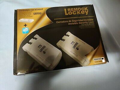 Remock Lockey cerradura invisible color plateado