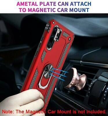 For Huawei P30 Pro P20 LITE Nova 2019 Case Rugged Armor Ring Holder Stand Cover