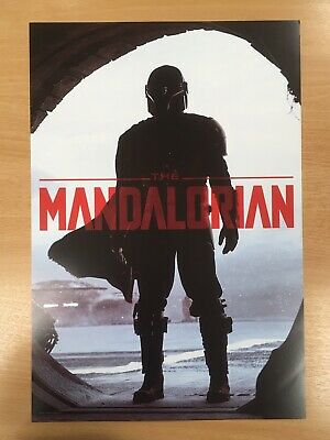 The Mandalorian - Star Wars Celebration 2019 Chicago Panel Exclusive Poster