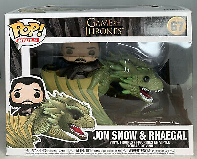 Funko POP! Rides: HBO Game of Thrones - Jon Snow and Rhaegal