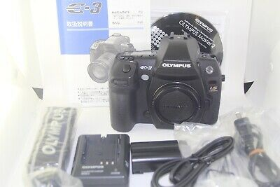 OLYMPUS E-3 Digital Camera Black Body w/BOX from Japan [Excellent]