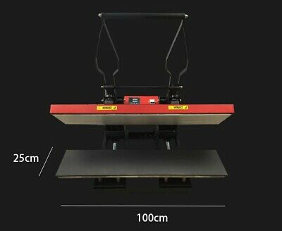 HIGH PRESSURE HEAT PRESS 25x100cm for bar runner mat , lanyard, sublimation ink