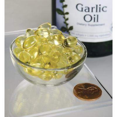 Swanson Garlic Oil 500mg, 250 Softgels