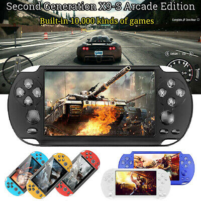8GB Handheld X9-S PSP Game Consoles Player Built-in 10000 Games 5.1'' Portable.