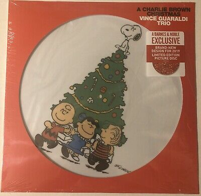 A Charlie Brown Christmas Lp Picture Disc 2019 Vince Guaraldi Trio New Design