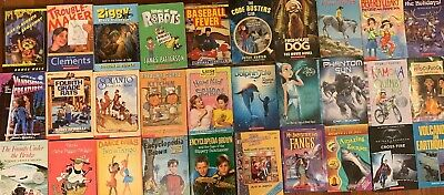Chapter Books lot of 30 Scholastic Boys/Girls Paperbacks Grades 3rd, 4th, 5th