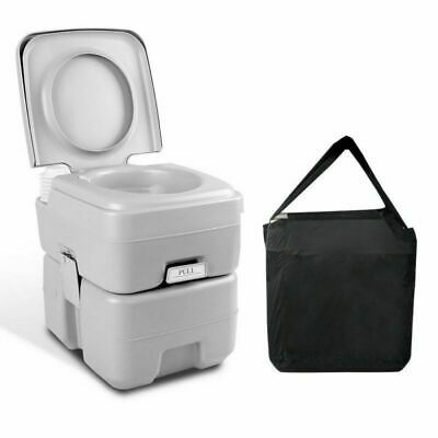 Camping Weisshorn Travel Portable Potty Caravan Outdoor 20L wtih Toilet Boating