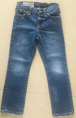 Ralph Lauren Genuine Boys Blue Jeans Size 5 Years