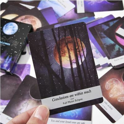 Moonology Oracle Cards: A 44-Card Deck By Yasmin Boland Board Game Party Game