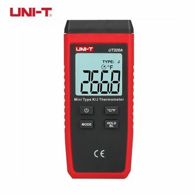 UNI-T UT320A Thermometer Single-channel K/J Thermocouple High Accuracy Data Hold