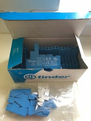 Box 10 x 95.05 SPA Finder Relay Socket, Screw Fitting, 250V ac - Box 10 supplied