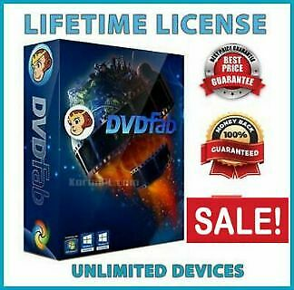 DVDFab 11 🔥 Full Edition🔥Lifetime License🔑 Original🔥Blu-Ray RIpper💌 X64/X86