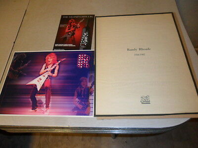 Ozzy Osbourne/Randy Rhoads.jet Records Ad 3D Picture And Wine Bottle  Ad
