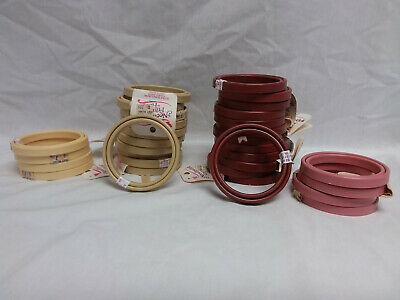 "32- round 3"" Needlework Framing Hoops-unused"
