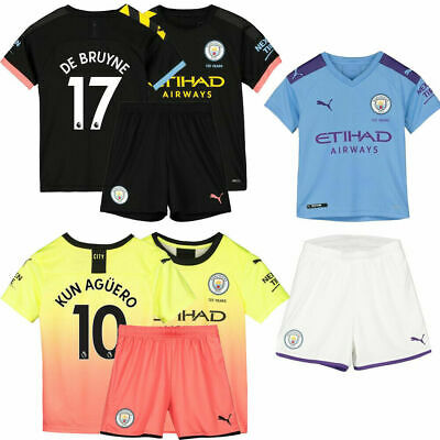 19/20 Soccer Football Kits Home Away Jersey Shirt Adult Kids Boys Suit +Socks UK
