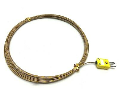Heller 57017605 Omega K Thermocouple Plug to Flying Lead 26'