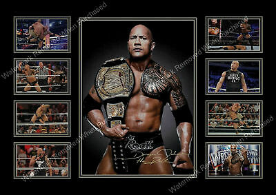 DWAYNE JOHNSON A3 A4 THE ROCK INSPIRATIONAL QUOTE POSTER ROK02 R BUY 2 GET1FREE