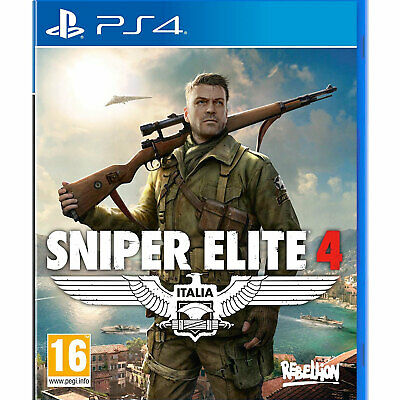 Sniper Elite 4 PS4 PLAYSTATION New and Sealed