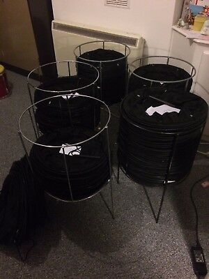 BIG LOT! Collapsible mesh net shopping retail baskets with stands £2 REDUCED!!!