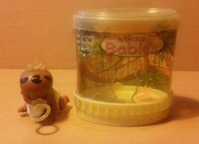 The Original Crawling Micro Babies 2003 TOMY Interactive Doll