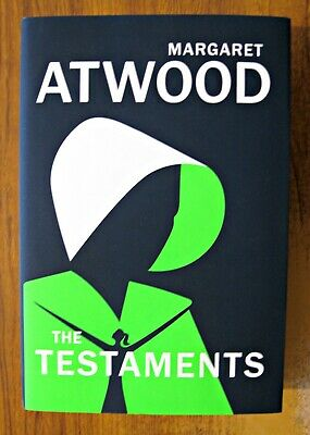 The Testaments  Margaret Atwood UK 1/1 Hardback BOOKER PRIZE 2019 JOINT WINNER