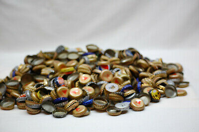 660 Metal Soda Beer Bottle Caps Tops Used Craft Collectible