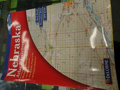 NEW DELORME KENTUCKY KY Atlas and Gazetteer Topo Road Map ...