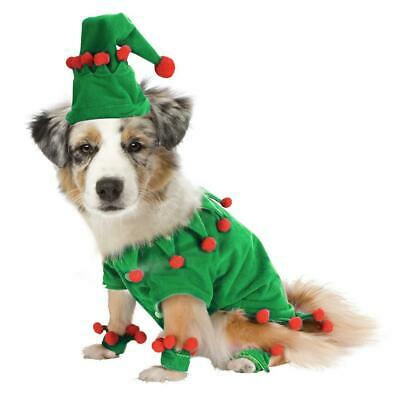 Pet Dog Cat Puppy Pet Christmas Funny Elf Clothes Role Playing Clothes Costume