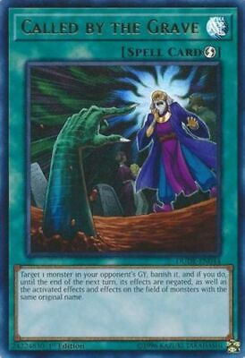 YGO-1x-Near Mint-Called by the Grave - DUDE-EN044 - Ultra Rare - 1st Edition-Due