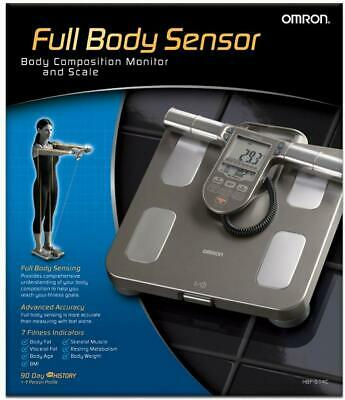 New Omron Bf511 Body Composition and Body Fat Monitor Bathroom Scale