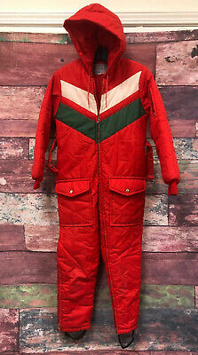JCPenney vintage boys sports outerwear snow Quilted suit full cover suit sz 12