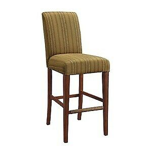 Nelson Bar/Counter Stool (COVER ONLY)  Rubbed Bronze Finish with Gold Fabric