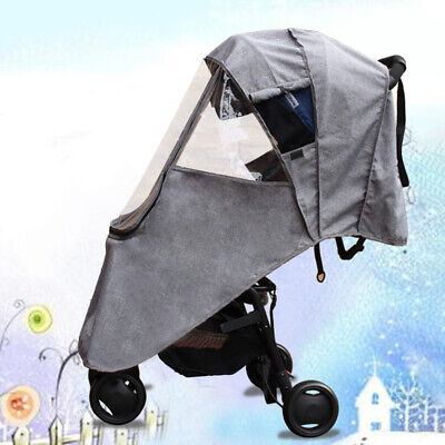 Storage Pockets Rain Cover Warm Accessories Baby s Protection Universal