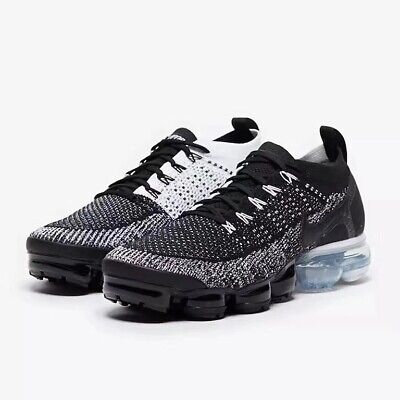 Nike Air VaporMax 2018 Flyknit 2.0 Men's Charcoal/ White Running Trainers Shoes