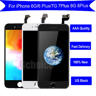 AAA For iPhone 6S/6 Plus Full LCD Touch Screen Replacement Home Button&Camera