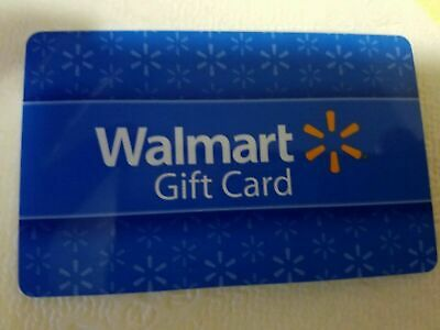 Walmart gift card $100 New - No Exp.- Store or Online Use