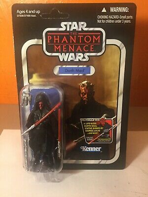Star Wars Vintage Collection Darth Maul VC86 Action Figure Unpunched Hasbro 2012