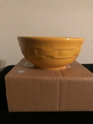 Longaberger Soup & Salad Bowl - Sunshine Yellow