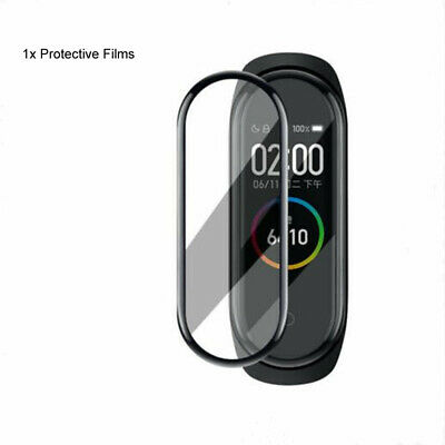 3D Full Cover Tempered Glass Screen Protector Film For Xiaomi Mi Band 4 Kits