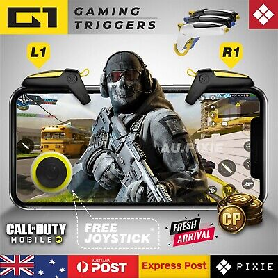 G1 Mobile Phone Gaming Triggers L1R1 Shoot Fire Aim Button Gamepad PUBG Iphone