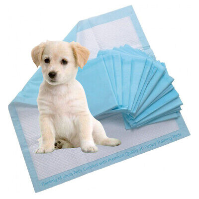 60x60cm 10 Super Absorbent Puppy Dog Training Pads Pet Train Toilet Trainer Pads