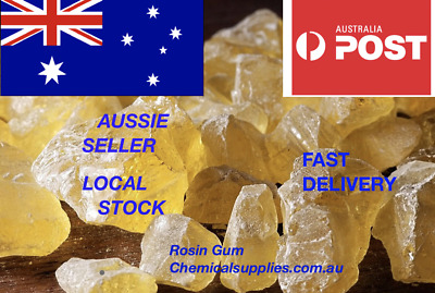 Made in Aus Pure Natural Rosin Gum Colophonium Pine Resin colophony