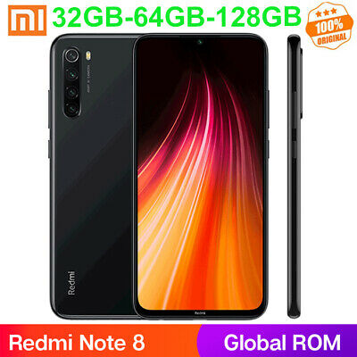 "Xiaomi Redmi Note8 6.3"" 4+128GB Smartphone Snapdragon 665 Octa Core 48MP 4000mAh"
