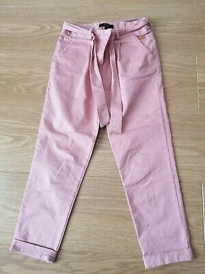 Marks And Spencer Autograph Girls Trousers Age 7-8 Years