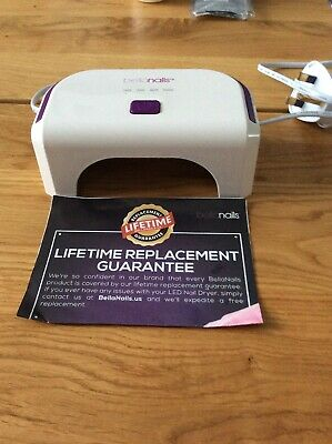 Bella Nails Led Nail Dryer Shellac Excellent Condition