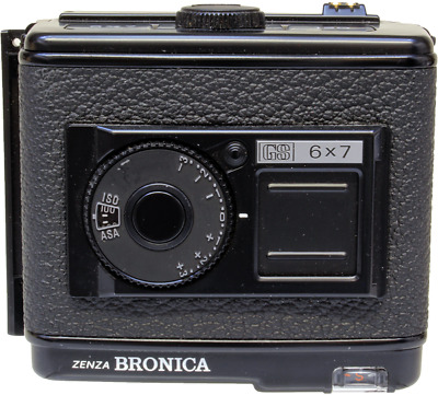 Bronica GS 6x7 120 film back