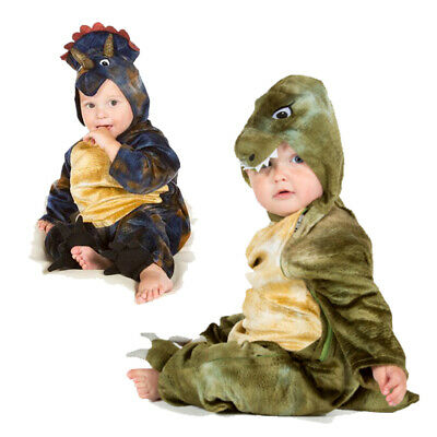 Baby Toddler Boys Girls T Rex Triceratops Dinosaur Fancy Dress Costume Outfit