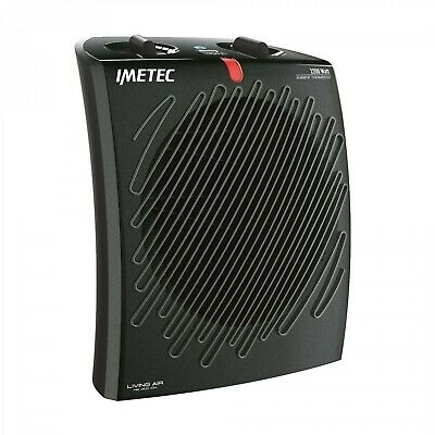 Imetec  Living Air M2-400 Ion Stufetta con elettroventola Interno Nero 2200 W 40