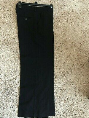 """GEORGE Boys Black Dress Pants Size 16 worn once Inseam 27"""" preowned"""