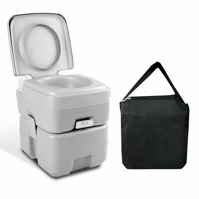 Weisshorn 20L Outdoor Portable Toilet Camping Potty Caravan Travel Boating wtih